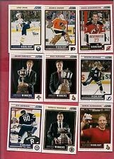 2012-13 SCORE SEASON HIGHLIGHT CARD LOT INCLUDE STAMKOS PARENT