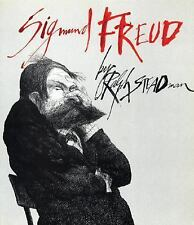 SIGMUND FREUD by Ralph Steadman- Large Softcover-Firefly Books 1997 1st Edition
