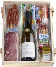 Forêt-noire/Schwarzwald Caisse en bois Vin blanc dans caisse avec Saucisse et