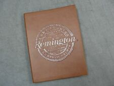 Remington Camp Cooking Cookbook By Charlie Palmer 1st Edition Leather Bound