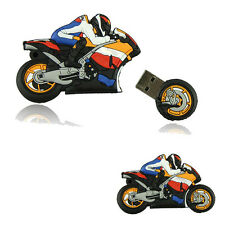 NEW USB2.0 Cartoon Motorcycle 8GB Bulk Usb Flash Drive Motor Flash Memory Nurse