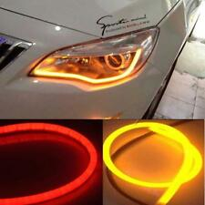 30/45/60/85cm Flexible Car Soft Tube LED Strip Light DRL Daytime Running Lamp