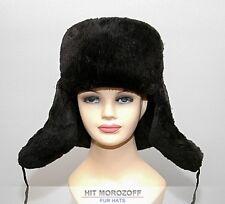 Chapka Ushanka Sheared BEAVER FUR Russian Winter Hat Fellmütze Biber Pelz Mütze