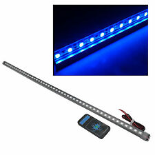 48 LED 5050 IMPERMEABILE Flash Auto KNIGHT RIDER Strisce di luci con telecomando in Blu 56cm
