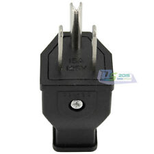 Hot Sale AC 15A 125V US 3 Pin Plug Connector Adapter For Computer Noterbook 1pc