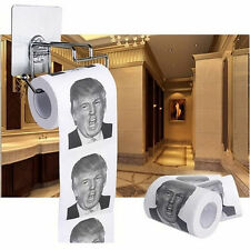 Donald Trump Humour Toilet Paper Roll Novelty Funny Gag Gift Dump Fashion
