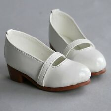 [wamami]122# New White Cute 1/4 DZ MSD AOD BJD Dollfie Synthetic Leather Shoes