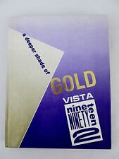 1992 Yearbook Sabino High School Tucson Arizona AZ 'Vista' Vol 20 Memorabilia