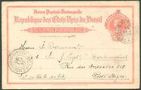 BRAZIL Postal Stationery 1911 VF