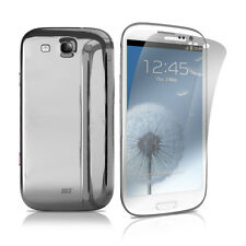SBS CHROME CUSTODIA CASE per SAMSUNG GT i9300 GALAXY S3 SILVER