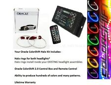 2010-13 Chevy Camaro Oracle ColorSHIFT Halo Head + Fog Light Kit (w/ Remote)