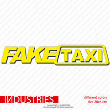 Fake taxi amusant Autocollant 20x4 car voiture sticker OEM Fun tuning Life
