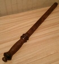"Vintage Original 24"" Wooden Police Night Stick / Billy Club / Baton"