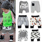 Toddler Baby Boy Infant Kids Summer Bottom Harem Pants Trousers Shorts Joggers