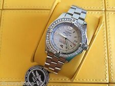 PRE-OWNED BREITLING AEROMARINE COLT OCEANE II DIAMOND WATCH WITH PAPERS A7738011