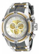 New Men's Invicta 19727 Bolt Zeus Reserve Swiss Chronograph Grey Poly Watch