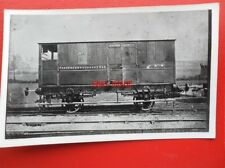 PHOTO  D&M RAILWAY PASSENGER LUGGAGE VAN NO 1