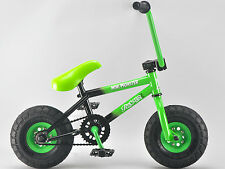 Rocker BMX Mini BMX Bike MINI MONSTER GREEN iROK+ Rocker