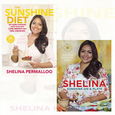 Shelina Permalloo Collection The Sunshine Diet,Sunshine on a Plate 2 Books Set