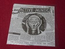 "Active Minds: Lunatics have taken over  7""  Flexi   NEW"