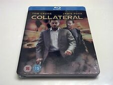 Collateral STEELBOOK (Blu-ray, UK Import) PLAY.com Exclusive RARE OOP