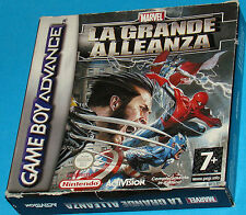 Marvel - La Grande Alleanza - Game Boy Advance GBA Nintendo - PAL