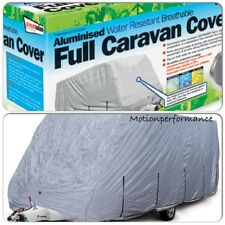 New Waterproof Breathable Full Travel Caravan Protection Cover - MEDIUM 14 - 17'