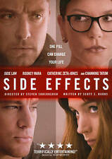 BLURAY MOVIE Side Effects with Jude Law Channing Tatum Catherine Zeta-Jones 2013