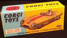Corgi 151A Lotus MK Eleven Le-Mans Racing Car Empty Repro Box Only