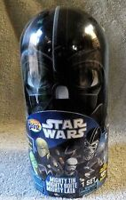 MIGHTY BEANZ STAR WARS 2010 MIGHTY TIN DARTH VADER W/2 EXCLUSIVE SW BEANZ