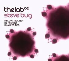 STEVE BUG =the lab 02= Kiki/HOSH/DOP/Koze...=2CD= DEEP HOUSE MINIMAL TECH HOUSE