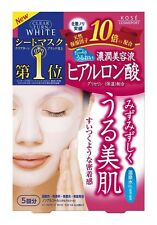 KOSE Hyaluronic acid Face Mask Cosmeport Skincare 5 pieces from Japan