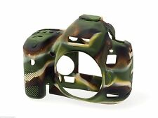 easyCover Silicone Skin Soft Case Cover Protector Canon 6D in Camouflage