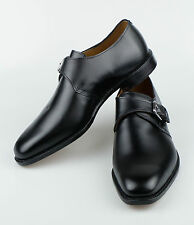 NIB POLO RALPH LAUREN U.S.A Portsmouth Black Leather Monkstrap Shoes 11 $495