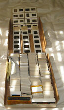 Lot of 825-850 Amateur 35mm Slides  1960s-90s USA Louisiana Washington DC People