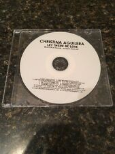 Let There Be Love [16 Track Remix Promo CD] By Christina Aguilera Jump Smokers