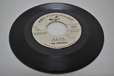Take My Love/Daisy, The Corvells (45rpm, VG++/NM-, ABC Para 10324, 1962 orig.)