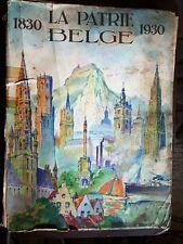 1830 la patrie belge 1930