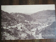 "OLD SEPIA POSTCARD, "" MATLOCK BATH, FROM HEIGHTS OF JACOB ""."