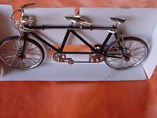 I, MINI BICYCLE DECORATIVE COLLECTIBLE COLLECTION, DIE CAST METAL BIKE. TANDOM