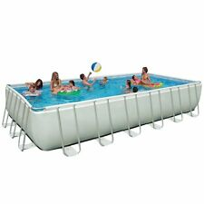 Intex 24ft X 12ft X 52in Ultra Frame Pool Set with Sand Filter Pump