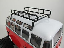 1/10 Metal Roof Mount Luggage Rack Tray for Tamiya WR-02 Volkswagen Bus Type 2