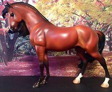 Breyer #1433 Padré Dark Bay Mustang Stallion Spirit Mold Retired Model Horse