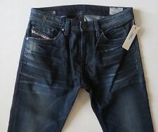 Diesel Men Jeans 34 W x 32  Thavar U0815 Slim Skinny Stretch Distressed NWT
