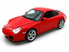 Maisto Special Edition Porsche 911 996 Carrera 4S Red Diecast Model Car 1/18