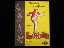 1958 University of Southern California Football Yearbook