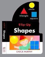 Flip-Ups: Shapes by Chuck Murphy (2008, Novelty Book)