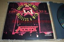 Accept 1986 USA CBS CD A Compilation Best of Balls to the Wall Restless & Wild