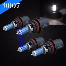 Combo 2 Pair 9007-HB5 White 100/80w Xenon Halogen Headlight Bulb High/Low Beam