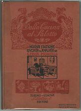 Donna Clara DALLA CUCINA AL SALOTTO Lattes 1927 Lidia Morelli
